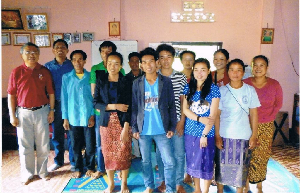 Church of Christ in Luang Prabang Province, Laos. Some of the members of the Luang Prabang Province church.