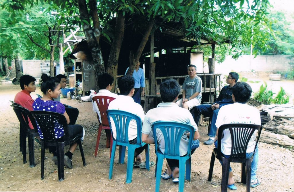 Savan Bible Students, Savannakhet Province, Laos. The Savan Bible students have many questions for Patinya Thitathan about the church in Laos and the United States. The Savannakhet Province is located in the southern part of the country and is the largest province in Laos.