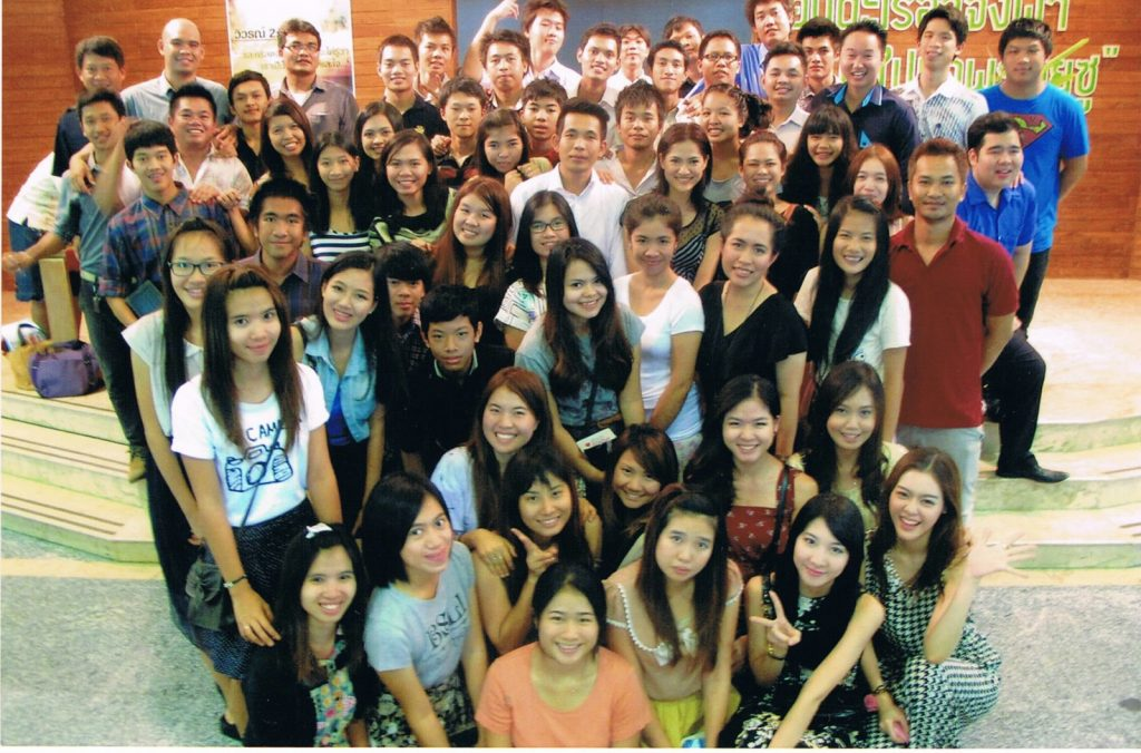 Watcharapon Church of Christ, Bangkok, Thailand sends greetings to you in America from the youth group!