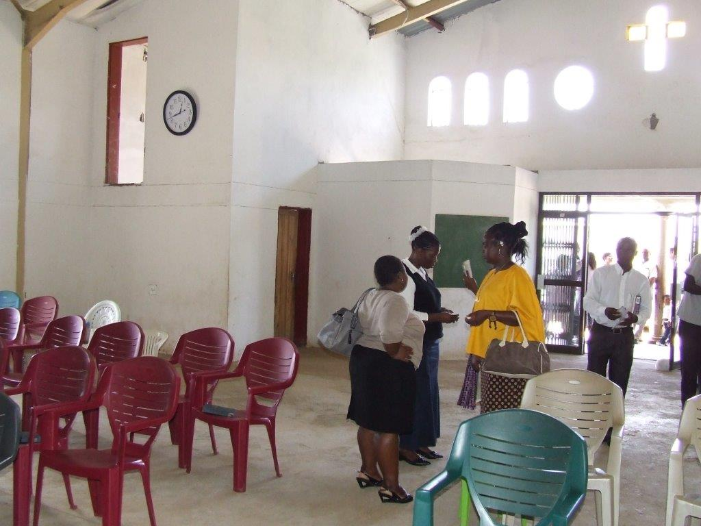 Inside Matsapha Church of Christ